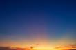 blue dramatic sunset sky texture background.