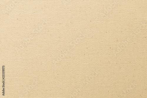 Fotografie, Obraz  Canvas burlap fabric texture background for arts painting in beige light sepia c