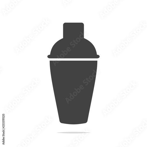 Fotografia Cocktail shaker icon vector