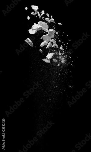 Fotografía  broken debris