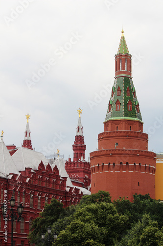 The Corner Arsenalnaya Tower of the Moscow Kremlin