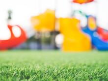 Blurred Colorful Playground, C...