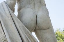 Male Buttocks Sculpture Stone ...