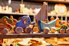Stand With Wooden Toys Christm...