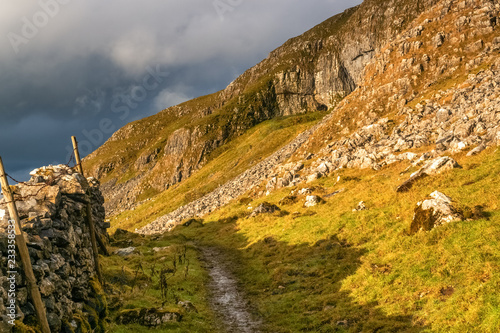 Above the bustling town of Settle is an area of unusual limestone out-croppings that are collectively known as the Attermire crags. The landscape is fairly stark but on a good day is a lovely place