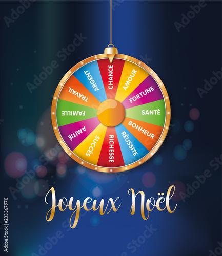Image De Joyeux Noel 2019.2019 Joyeux Noel Roue De La Fortune 1 Buy This Stock