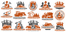 Construction Logo Template Set...
