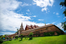 Wat Phra That Lampang Luang Lanna Style Buddhist Temple In Lampang Province Thailand.