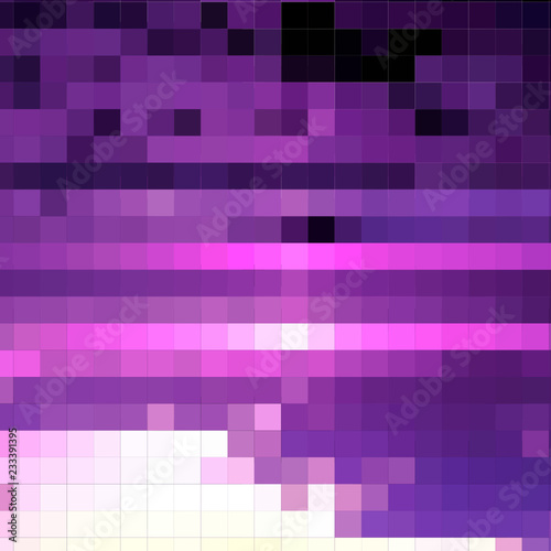 mosaic of purple tone Wallpaper Mural