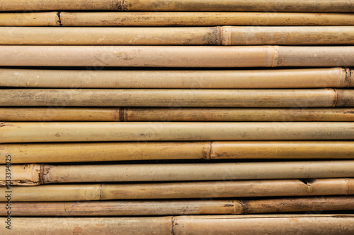 Dry bamboo sticks as background, top view