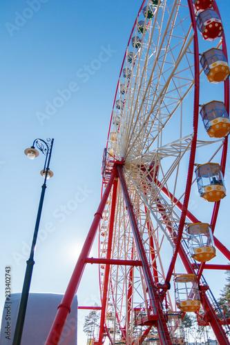 Ferris wheel Wallpaper Mural