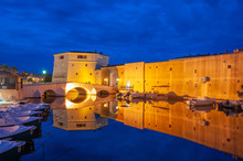 City Wall Of Port Grimaud