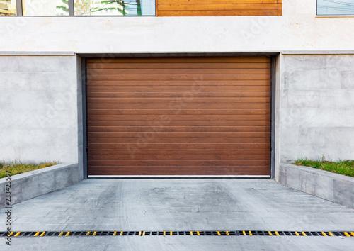 Image of Luxurious Brown Garage Door