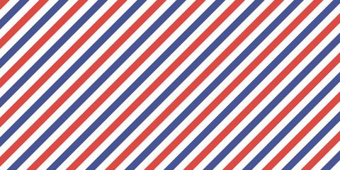 7507822 Classic retro background diagonal stripes red blue color, vector color stripes flag, airmail
