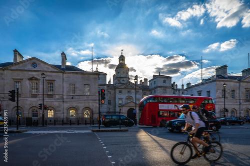 Obraz na plátně Horse Guards in London, UK.