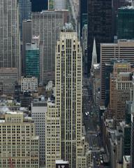 Skylines from above, Midtown Manhattan, New York City, New York State, USA