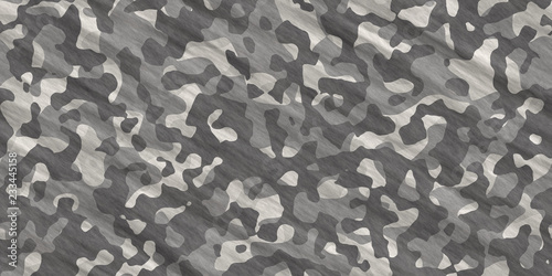 Photo  Black and White Army Camouflage Background