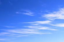 Thin White Cirrus Clouds. Back...