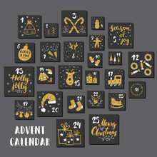 Christmas Advent Calendar. Han...