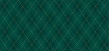Argyle Vector Pattern. Dark Gr...