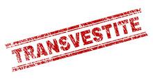 TRANSVESTITE Seal Imprint With...