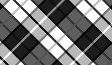 Tablecloth Gingham Pattern For Plaid,background,tablecloths For Textile Articles,red And White Cell,vector Illustration.