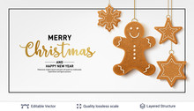 Gingerbread Cookies And Text O...
