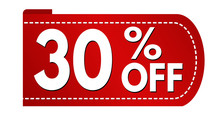Special Offer 30 % Off Banner Design