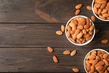 Tasty Organic Almond Nuts In B...