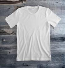 White Blank Tee Shirt