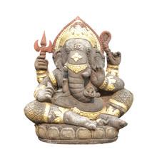 Antique Ganesha Statue Isolate...
