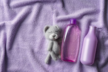 Teddy Bear With Cosmetics For ...