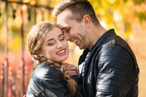 Fotografia  Loving young couple outdoors