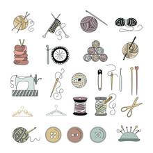 Knitting Sewing Set
