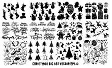 Doodle Big Set ,christmas Elem...
