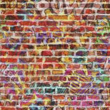 Repeating Graffiti Wallpaper Background