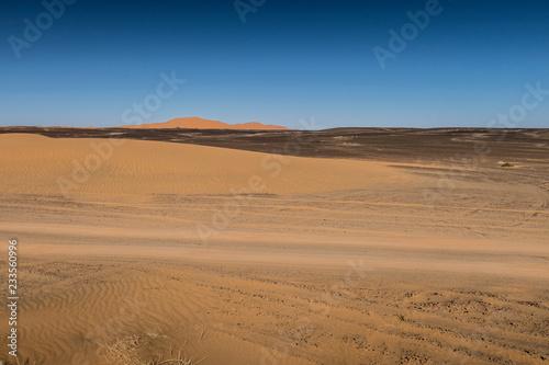 Keuken foto achterwand Zandwoestijn Sahara desert, Morocco