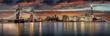 Die Skyline von London am Abend: von der Tower Bridge bis zur London Bridge