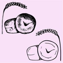 Ear And Wheat Bun