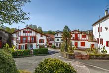 Street In Ainhoa, Pyrenees-Atl...