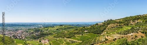 Fotografie, Obraz  Panorama valle Illasi