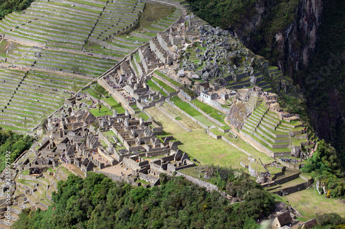 Staande foto Zuid-Amerika land Machu Picchu