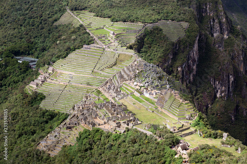 Spoed Foto op Canvas Zuid-Amerika land Machu Picchu