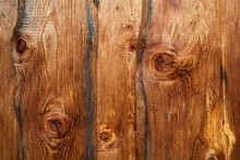 Wooden Boards On Wooden Wall, ...