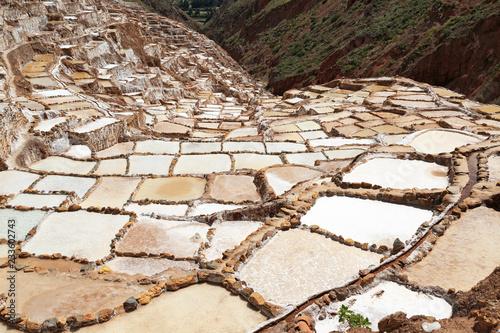 Staande foto Zuid-Amerika land Salzterrassen