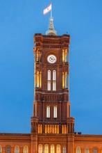 Rotes Rathaus Tower, Berlin-Mi...
