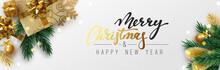 Christmas Banner, Xmas Sparkli...
