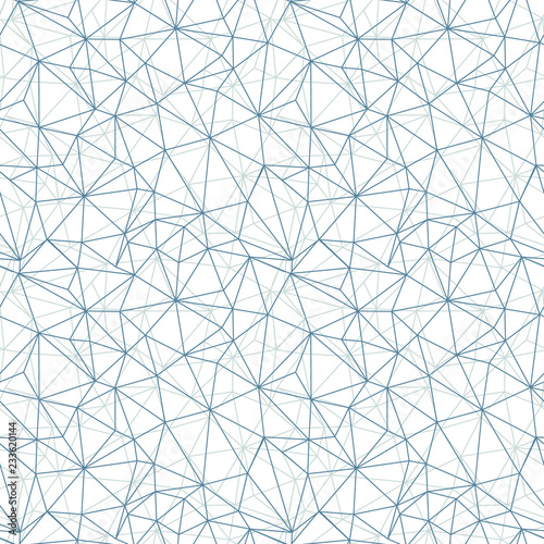Recess Fitting Pattern Grey network web texture vector seamless pattern. Great for space inspired wallpaper, backgrounds, invitations, packaging design projects. Surface pattern design.