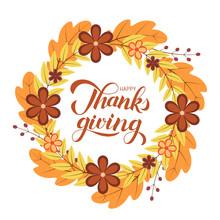 Happy Thanksgiving Calligraphy...