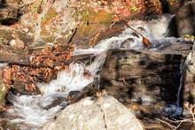 Smith Creek Waterfall At Anna Ruby Falls Near Helen Georgia